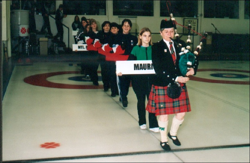 Elgin Pipe Band Curling