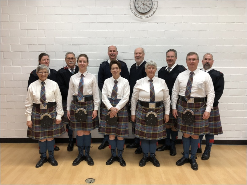 Elgin Pipe Band Huntingdon 05 Nov 2017
