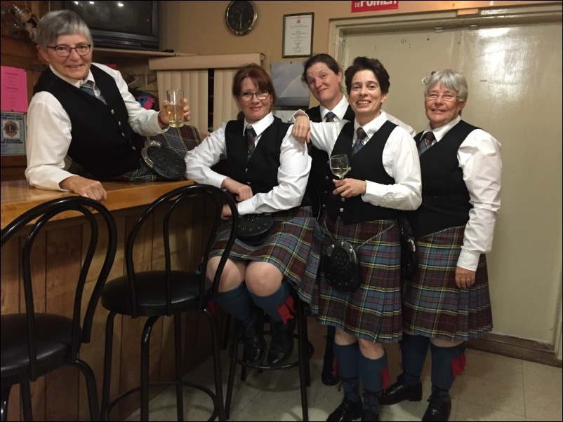 Elgin Pipe Band Ormstown Concert 19 Nov 2016