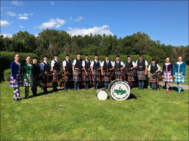 Elgin Pipe Band Festival Celtique 09 Sep 2018