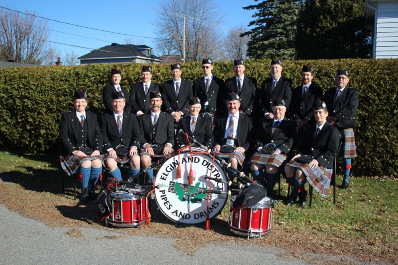 Elgin and District Pipe band